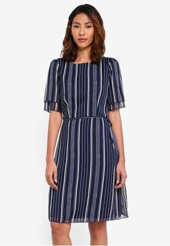 OVS multi Striped Dress 6CA8CAAE2F4708GS_1