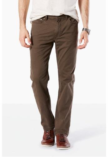 Dockers brown Dockers Standard Jean Cut Slim Tapered Pants Smokey Hazelnut EC1DDAAF2BFFA1GS_1