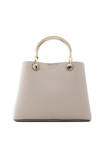 ALDO beige Surgoine Structured Tote Bag E9EA6ACD222804GS_1