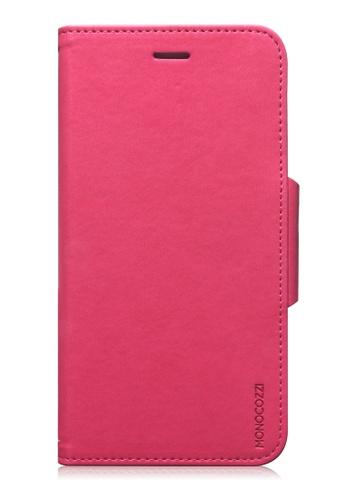 Monocozzi pink Lucid Folio Leather Hard Flip Folio For iPhone 6 Plus MO983AC68BWXHK_1