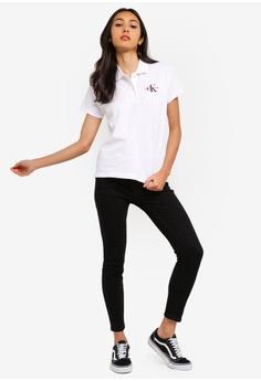 833ae2a3e56 Calvin Klein A-Embroidery Short Sleeve Polo Shirt - Calvin Klein Jeans RM  309.00. Sizes XS S M L XL
