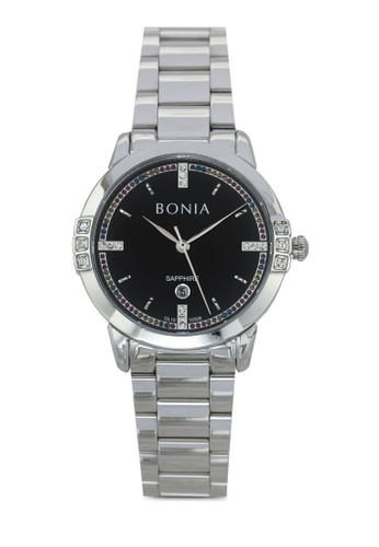 BONIA silver Bonia BNB10328-2337S Stainless Steel Watch BO777AC0SE12MY_1