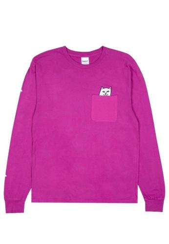 RipNDip pink LORD NERMAL LS F08C6AAFC4D489GS_1