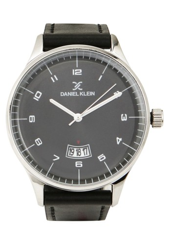 Daniel Klein black Jam Tangan Pria DK11818-2 Genuine Leather 79E1BAC843471FGS_1