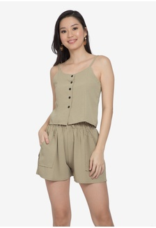 bd492f1ed94 Button Terno 551DEAA05F9E5DGS 1 Somura Button Terno Php 899.00 · Cosmo  Choice Cropped Romper BB8DCAAD047961GS 1