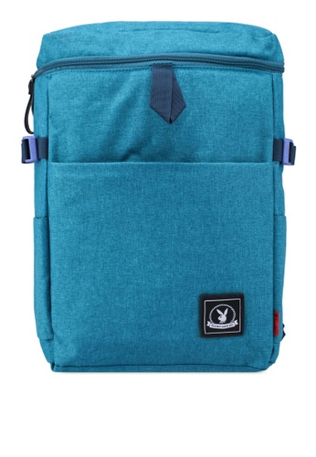 Playboy green Playboy Backpack 1C5A5AC05BEE43GS_1
