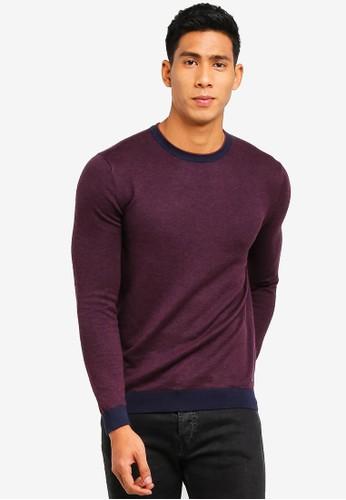 ESPRIT red Long Sleeve Sweater 60FADAA45A0B8CGS_1