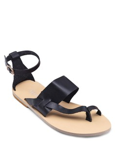 Kate Strappy Toe-Ring Sandals