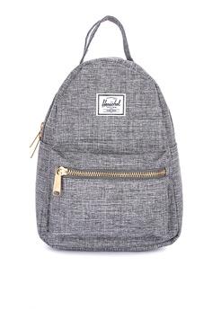 46b8735a3f3 Herschel grey Nova Mini Backpack 972E0ACE788B5EGS 1