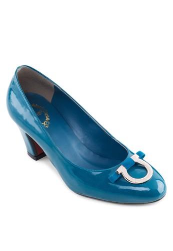時尚漆皮esprit暢貨中心中跟鞋, 女鞋, 鞋