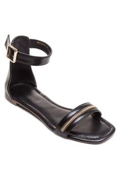 Eton Flat Sandals
