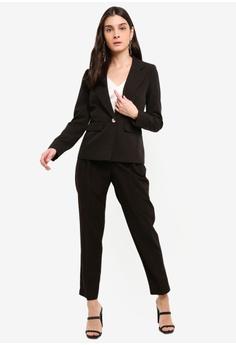 c22ea87c8c90 15% OFF Miss Selfridge Black Paperbag D Ring Trousers S$ 83.90 NOW S$ 70.90  Sizes 6 8 10 12 14
