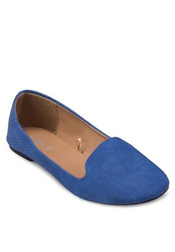 Sadie 暗紋樂福鞋, 女zalora taiwan 時尚購物網鞋, 鞋