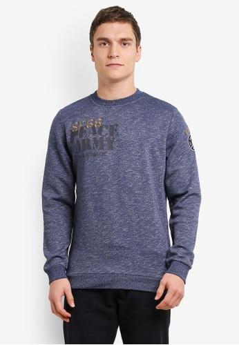 ESPRIT navy Long Sleeve Sweatshirt ES374AA0SEPIMY_1