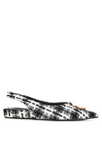 488876848a1 Shop Primadonna Pointed Toe Slingback Flats Online on ZALORA Philippines