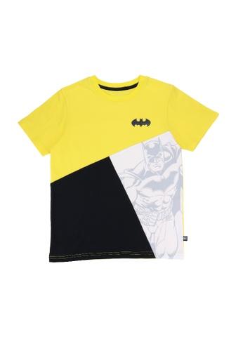 Batman DC Comics multi Boys Batman Gel Logo Graphic T-shirt 1D426KA4B580A5GS_1
