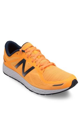 Zante zalora 衣服尺寸撞色網眼跑步運動鞋, 鞋, 運動