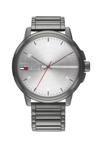 Tommy Hilfiger silver Tommy Hilfiger Silver Men's Watch (1791679) 82DEFAC3E92ED2GS_1