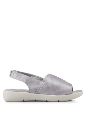Bata silver Sling Back Sandals 79A86SH232D8C7GS_1