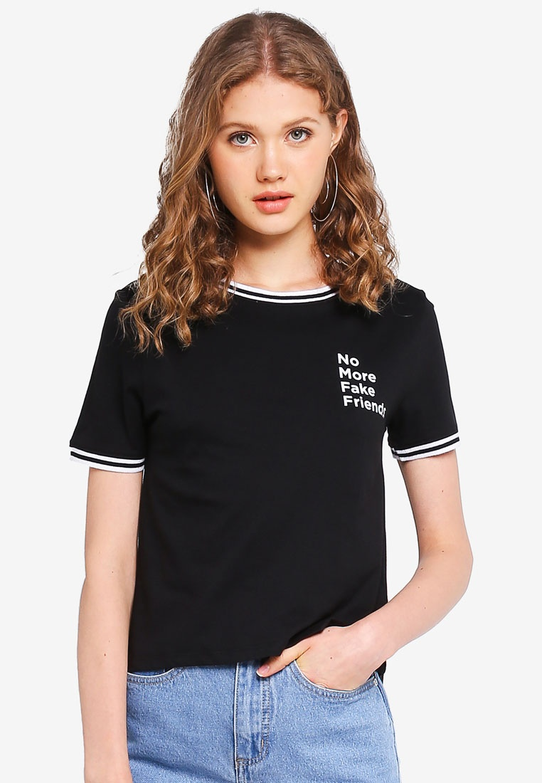 Factorie Tee Tee Factorie Ringer Black Riley Tee Black Riley Ringer Riley Ringer Factorie PYxU6Ut