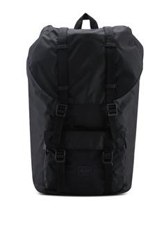 24a5dde26cdf Herschel black Little America Light Backpack 9CD0CAC3697373GS 1