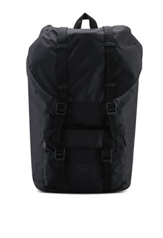 28364564614 Herschel black Little America Light Backpack 9CD0CAC3697373GS 1