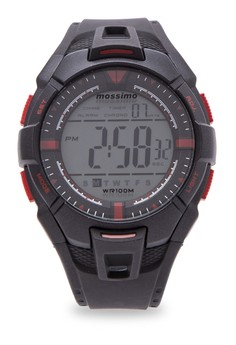 Shinjuku Rubber Strap Digital Watch
