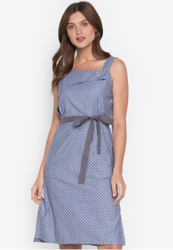Plains & Prints grey Natural Thebe Sleeveless Dress F760FAA0CB8F16GS_1