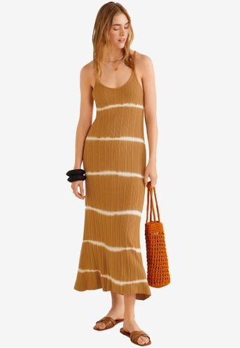 a5878984ed Buy Mango Tie-Dye Print Dress   ZALORA HK