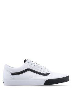 9a87e99f7a08 VANS white Old Skool Color Block Sneakers BBD2FSH98FA685GS 1