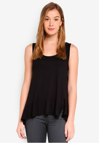 ESPRIT black Short Sleeve T-Shirt 59A2FAAD8790ABGS_1