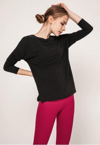 HAPPY FRIDAYS Women's Yoga Long Sleeve Tees DSG190607 383FDAA744ADA1GS_1