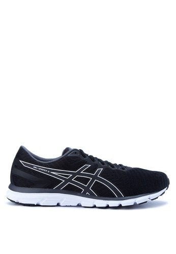 Asics black and grey Gel-Zaraca 5 Running Shoes AS445SH0JRZIPH_1