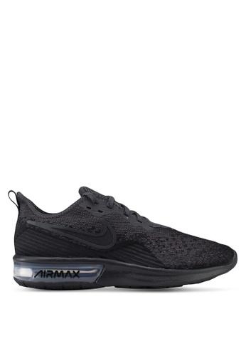 Nike black Nike Air Max Sequent 4 Shoes C369ASH9B179CCGS_1