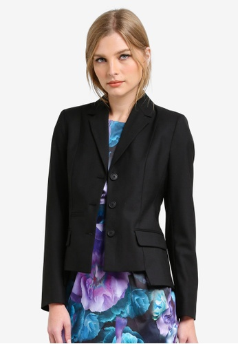 French Connection black Winer Tallulah Casual Blazer FR878AA0S3OHMY_1