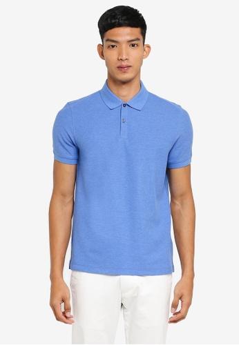 G2000 blue Basic Polo Shirt ED5D7AA7BB9DABGS_1