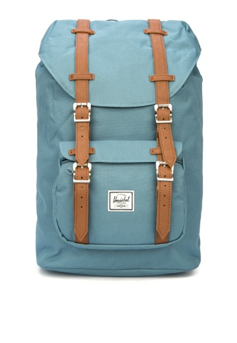 Herschel blue Little America Mid Backpack 8ECBEAC2F9E468GS_1
