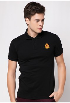 Plain Cuffs And Collar with Embro Polo