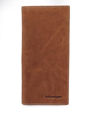 Volkswagen brown Long Leather Wallet 615ADACA3CF3F9GS_1