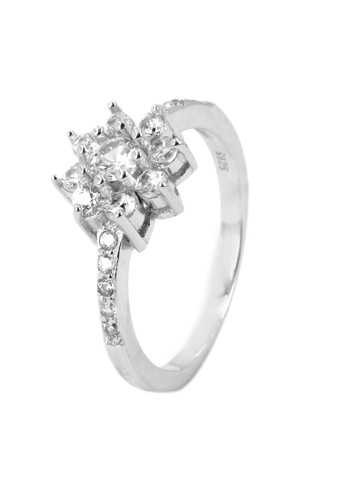 Jual DPARIS Dparis Ring Flowers Zircone SRS3005515