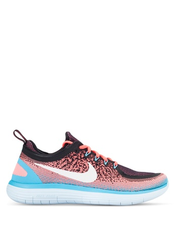Nike multi Women's Nike Free RN Distance 2 Running Shoes NI126SH40YPZMY_1