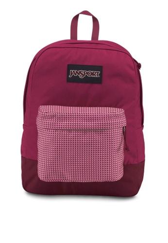 JanSport red Black Label Superbreak Backpack JA216AC0S5IUMY_1