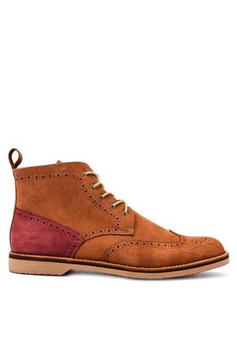 Antonio Manila brown Raphael Boots AN569SH11HIEPH_1