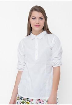NAOMI Shirt with Elastic Waist
