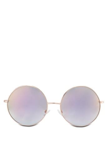 Primulacco 圓框太zalora 心得陽眼鏡, 飾品配件, 飾品配件