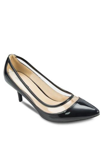 MADELYN 拼接尖頭esprit品牌介绍低跟鞋, 女鞋, 鞋
