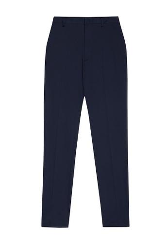 D'urban blue Straight Leg Pants 4674CAABED7DEDGS_1