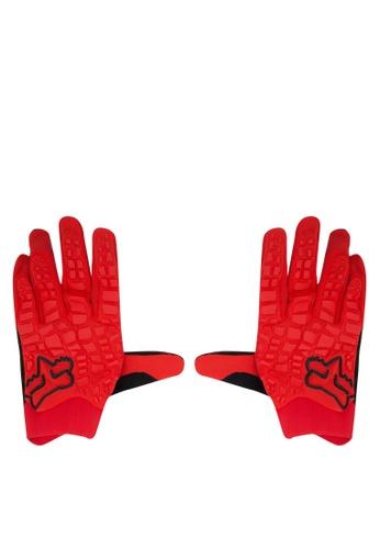 Fox Racing red Sidewinder Gloves FO276AC0JWHBPH_1