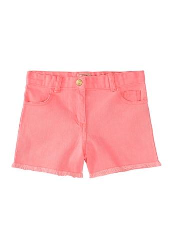 Du Pareil Au Même (DPAM) pink Denim Shorts 9E75AKAA084B45GS_1