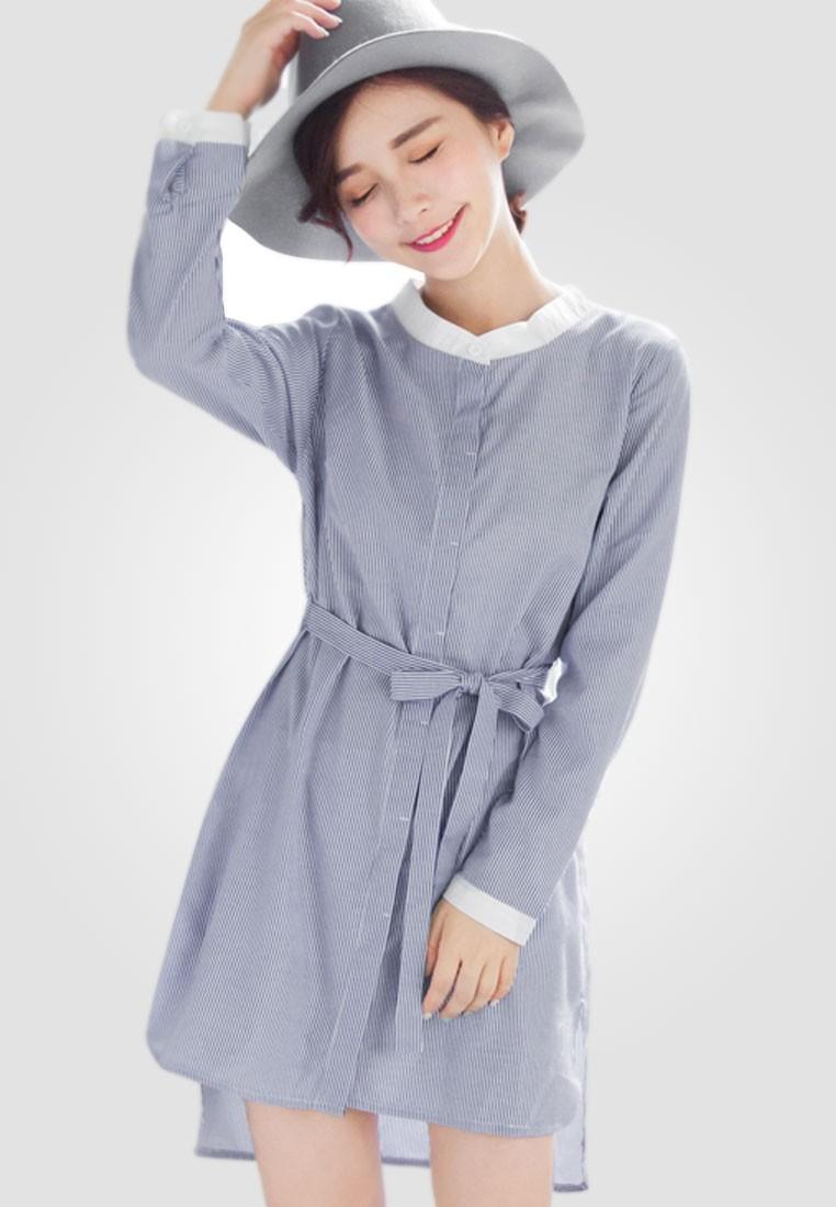 Modest Charm Shirt Dress